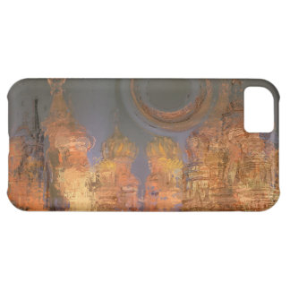 Expansion – Golden Shimmering City of Dream iPhone 5C Covers