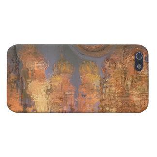Expansion – Golden Shimmering City of Dream iPhone SE/5/5s Case