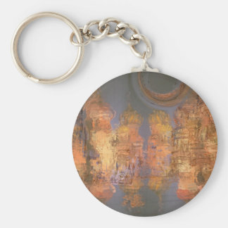 Expansion – Golden Shimmering City of Dream Keychains