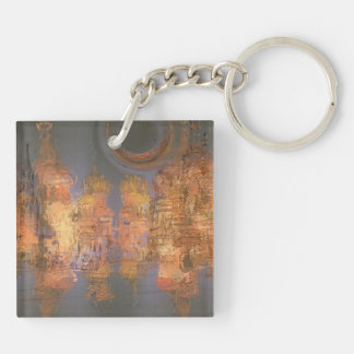 Expansion – Golden Shimmering City of Dream Keychain