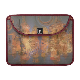 Expansion – Golden Shimmering City of Dream MacBook Pro Sleeve