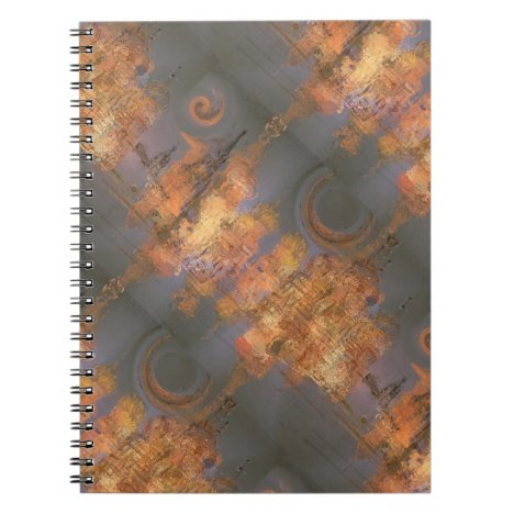 Expansion – Golden Shimmering City of Dream Notebook