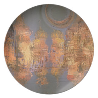 Expansion – Golden Shimmering City of Dream Plate