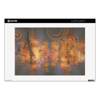 """Expansion – Golden Shimmering City of Dream 13"""" Laptop Skins"""