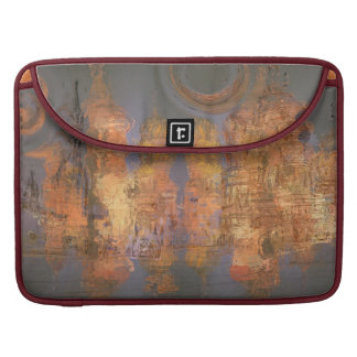 Expansion – Golden Shimmering City of Dream Sleeves For MacBook Pro