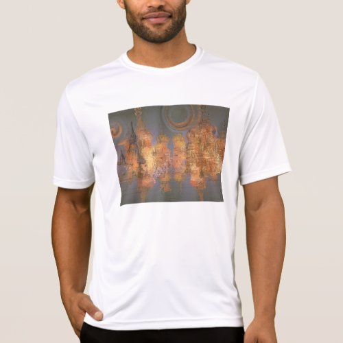 Expansion – Golden Shimmering City of Dream T-Shirt