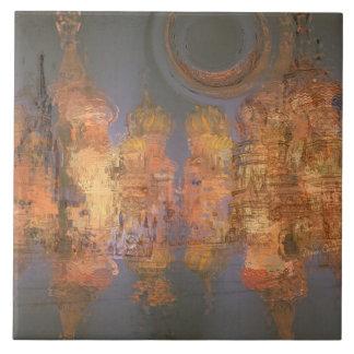 Expansion – Golden Shimmering City of Dream Tile
