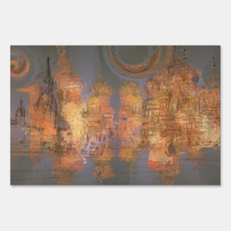 Expansion – Golden Shimmering City of Dream Yard Sign