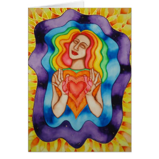 Expansion of Love Card by Rita Loyd