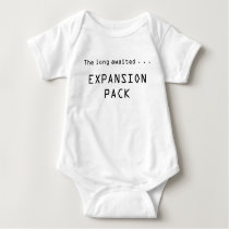 Expansion Pack Video Game Baby Baby Bodysuit