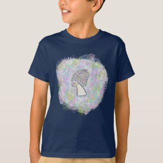 Expect Good Things Guardian Angel Art Boy T-Shirt