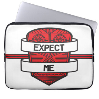 Expect Me Computer Sleeves