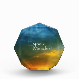 Expect Miracles! Acrylic Award