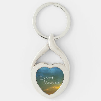 Expect Miracles! Keychain