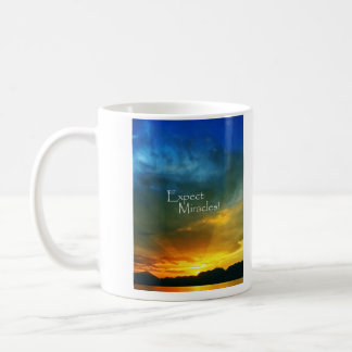 Expect Miracles! Classic White Coffee Mug