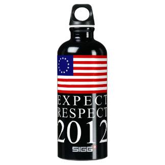 Expect Respect 2012 SIGG Traveler 0.6L Water Bottle