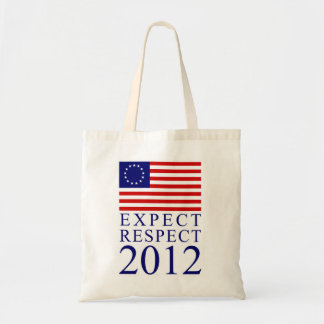 Expect Respect Budget Tote Bag