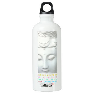 Expect Respect - Equal Rights for Women Aluminum Water Bottle