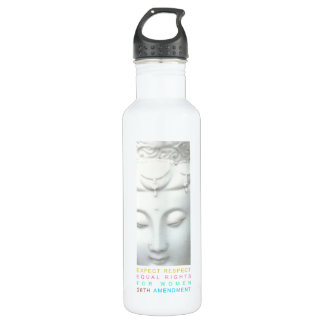 Expect Respect - Equal Rights for Women 24oz Water Bottle
