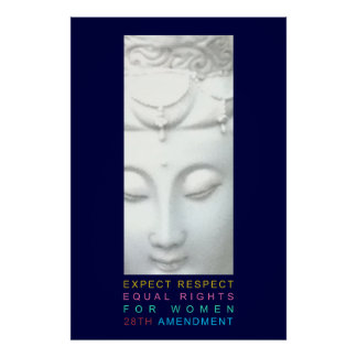 Expect Respect - Equal Rights for Women Print