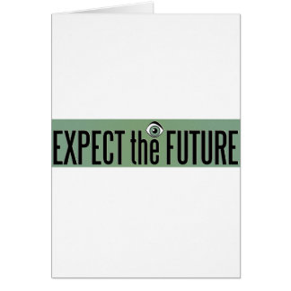 Expect The Future Logo Card