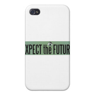 Expect The Future Logo iPhone 4/4S Cases
