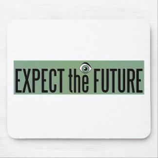 EXPECT THE FUTURE LOGO MOUSE PAD