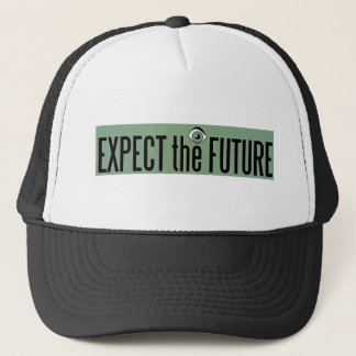 EXPECT THE FUTURE LOGO TRUCKER HAT