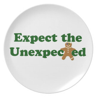 Expect the Unexpected Gingerbread Fashion Plate
