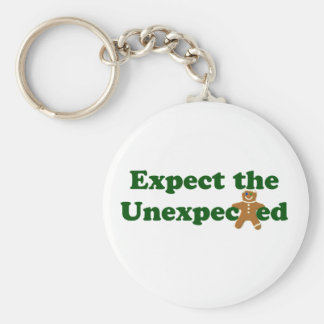 Expect the Unexpected Gingerbread Man Keychain