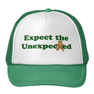Expect the Unexpected Gingerbread Man Trucker Hat