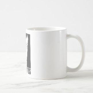 Expect us classic white coffee mug