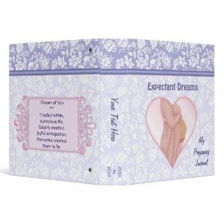 Expectant Dreams Vinyl Binder