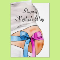 Expectant Mother Mother's Day Card