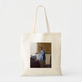 Expectant Mother Reading a Letter Tote Bag