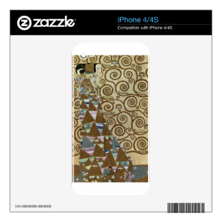 Expectation by Gustav Klimt Skin For The iPhone 4S