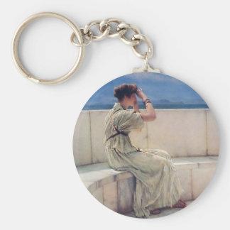 Expectations by Lawrence Alma Tadema Keychain