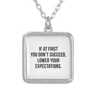 Expectations Silver Plated Necklace