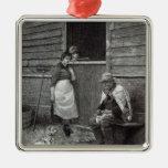 """Expectativa, a partir de la """"hora del ocio"""", 1888 ornamentos de navidad"""