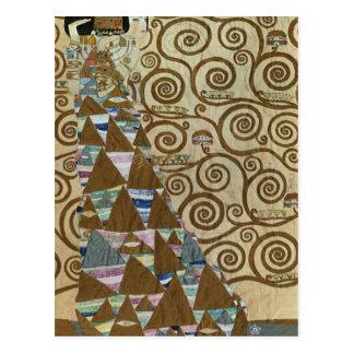 Expectativa de Gustavo Klimt Tarjetas Postales