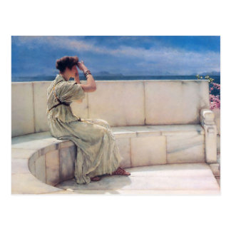 Expectativas de Lorenzo Alma Tadema Postal