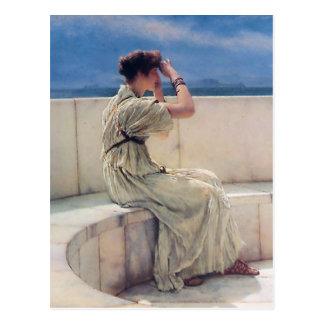 Expectativas de Lorenzo Alma Tadema Postales