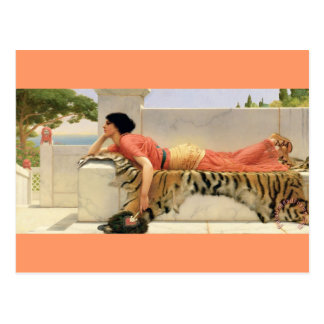 Expectativas - vintage - Godward Postales