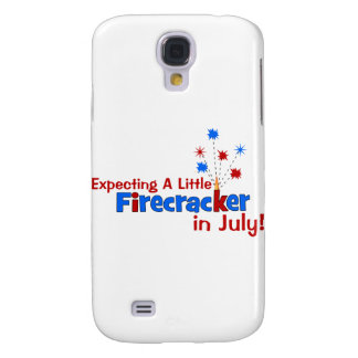 Expecting A Little Firecracker in July Galaxy S4 Cases