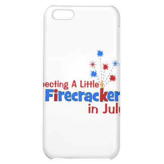 Expecting A Little Firecracker in July iPhone 5C Cover