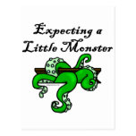 Expecting a little monster postcards