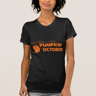Expecting A Little Pumpkin In October Tshirts