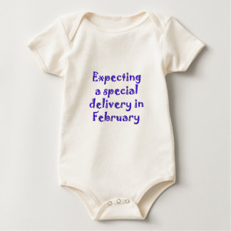 expecting a special delivery in february.png baby bodysuit