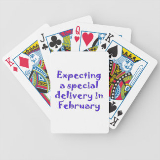 expecting a special delivery in february.png bicycle playing cards