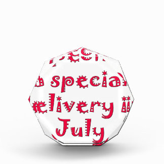 Expecting a special delivery in july award